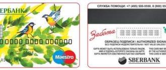 Сбербанк: социальная карта Маэстро