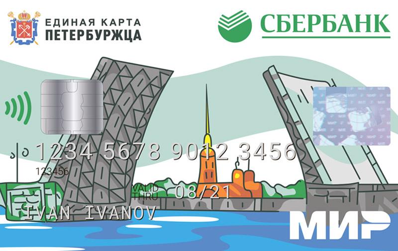 Карта МИР Сбербанка